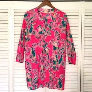 Lilly Pulitzer Oasis Tunic Cover-Up, Medium